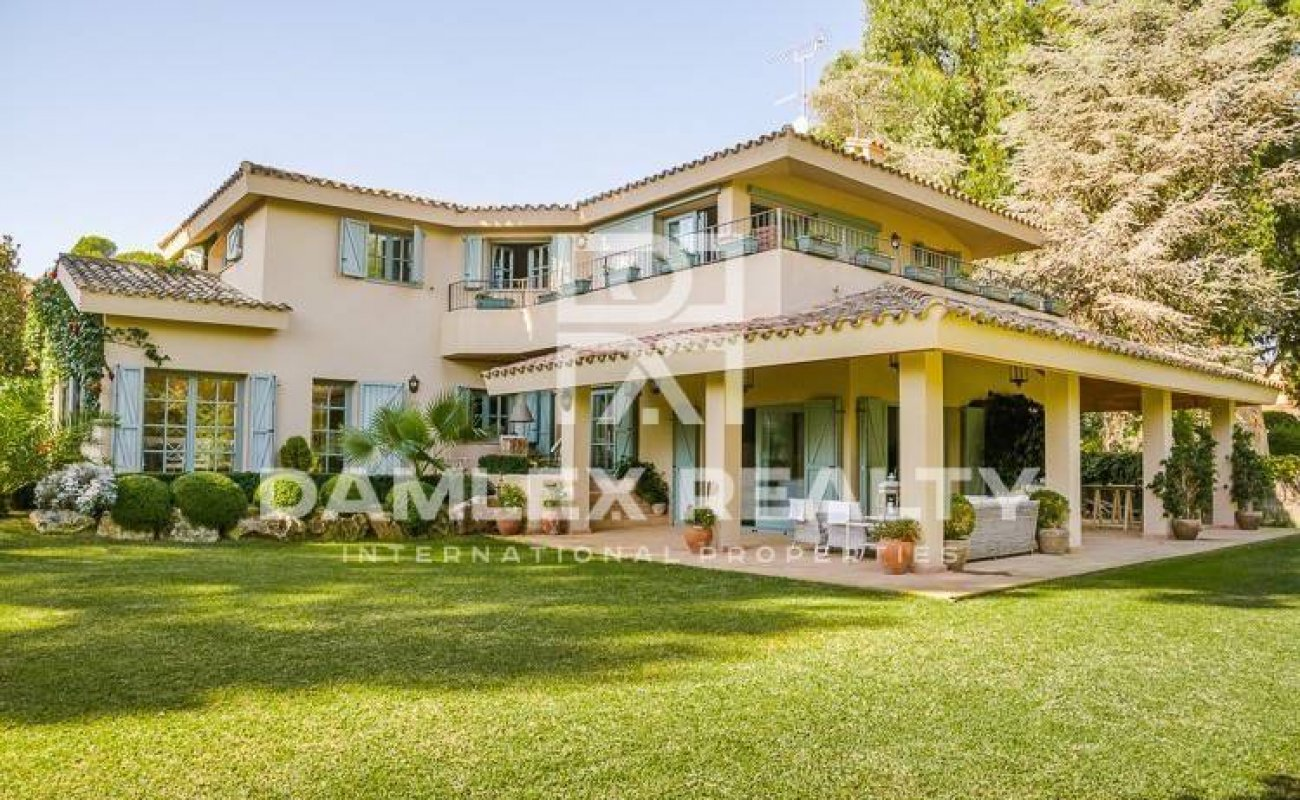 The house in a suburb of Barcelona, Costa Maresme