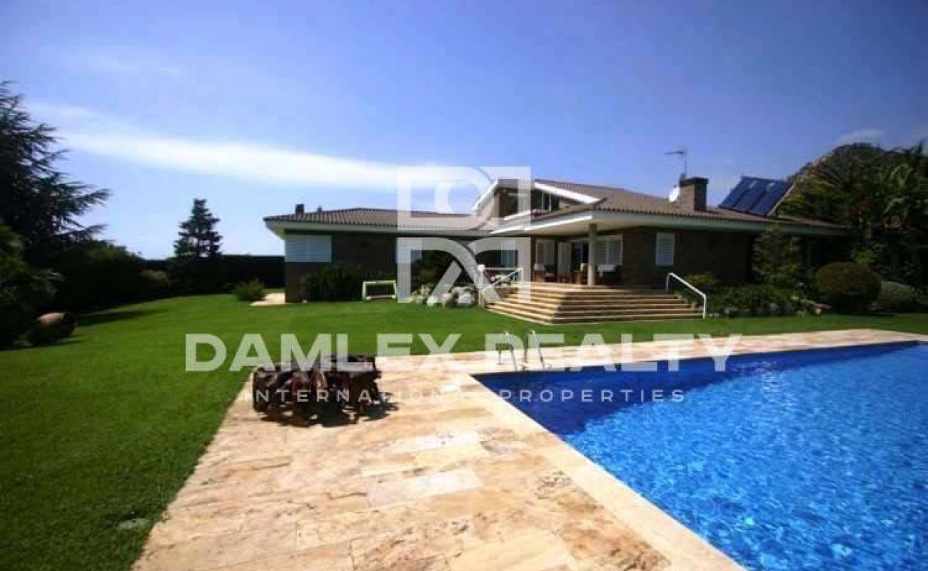 The house in 30 minutes from Barcelona, Costa Maresme