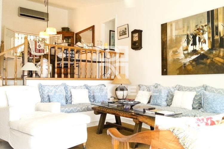 Costa Brava. Villa in urbanization in the town of Blanes