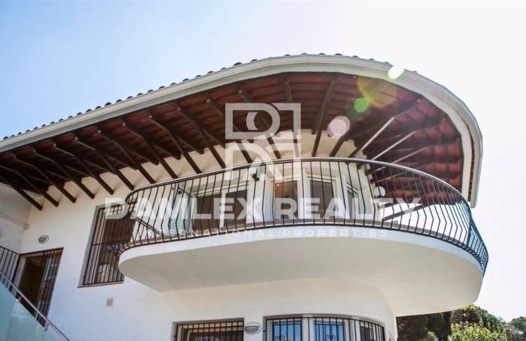 The house within walking distance to the beach. Lloret de Mar