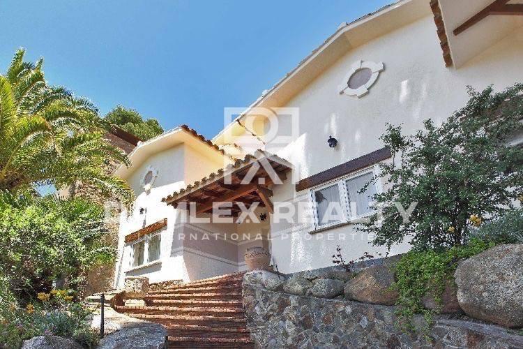 House on the beach. Costa Brava