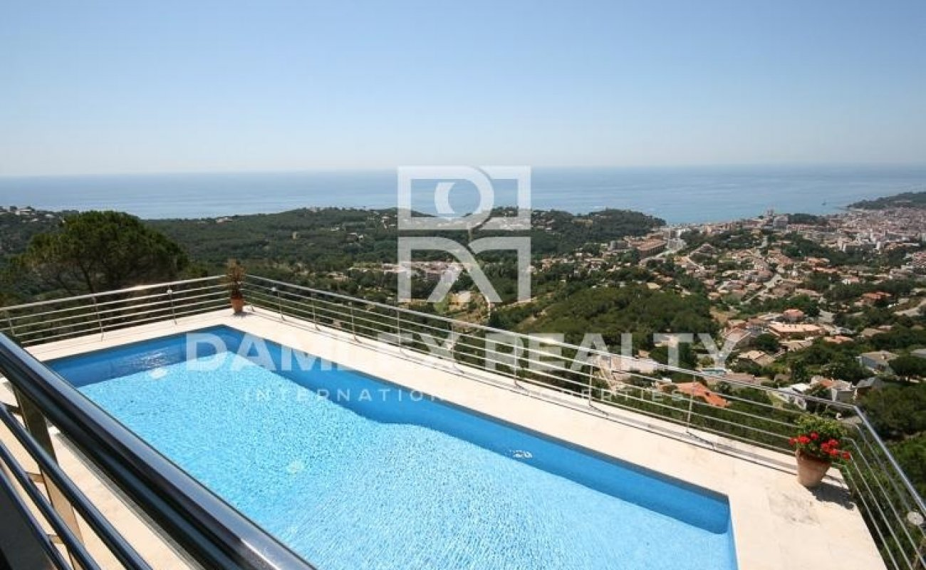 Beautiful views of the sea. Lloret de Mar