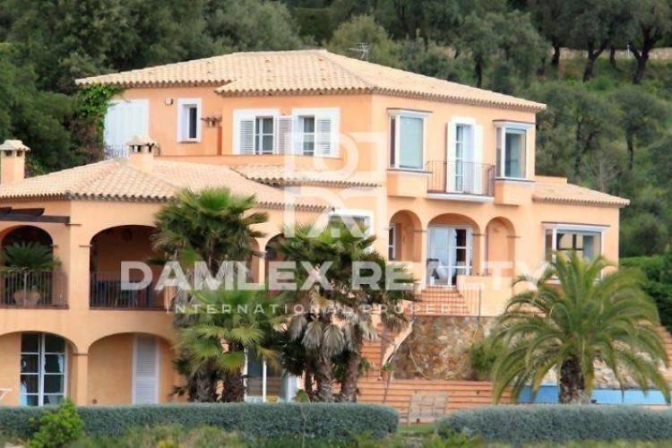 Luxury villa in Costa Brava with sea views in the prestigious urbanization of Mas Nou