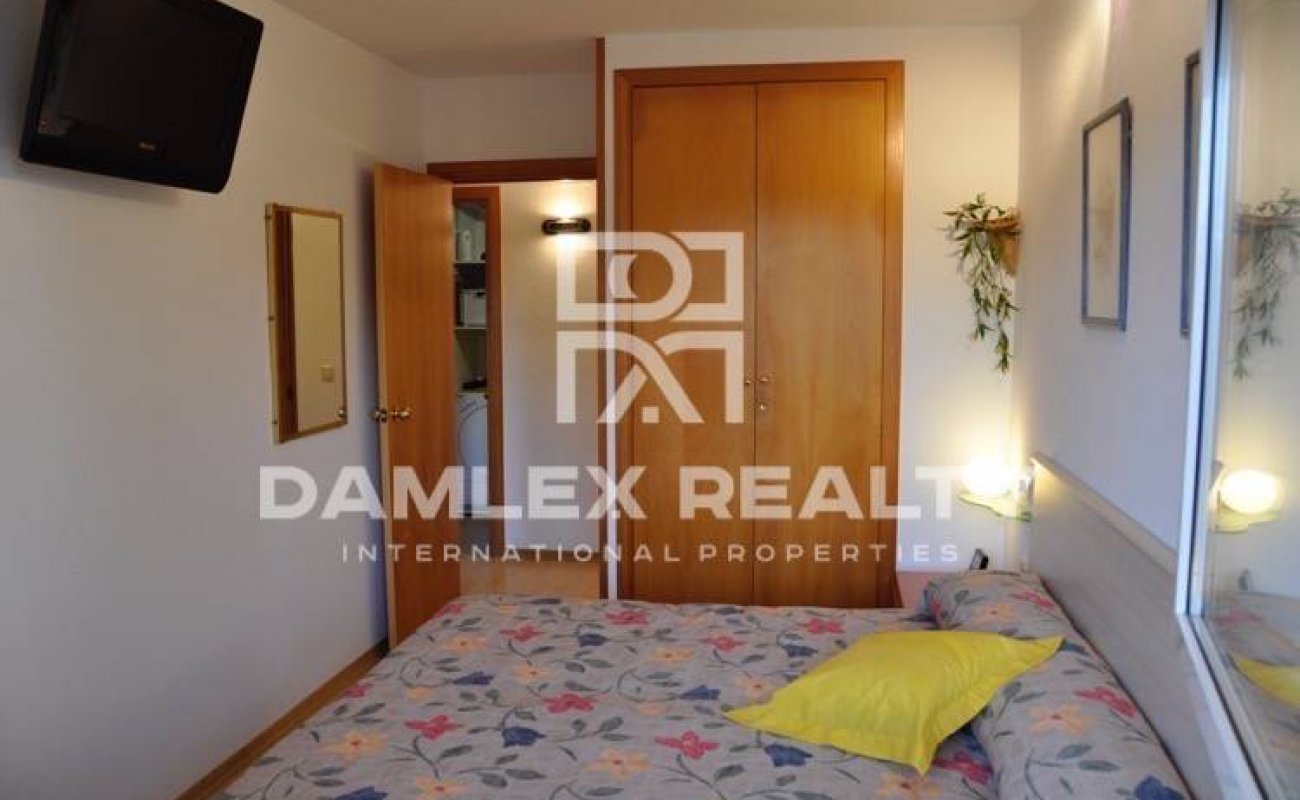 First line sea apartment in Blanes