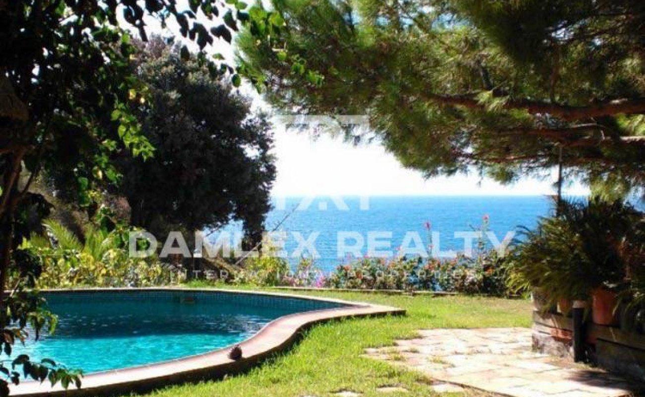 House near the sea in a quiet place. Lloret de Mar