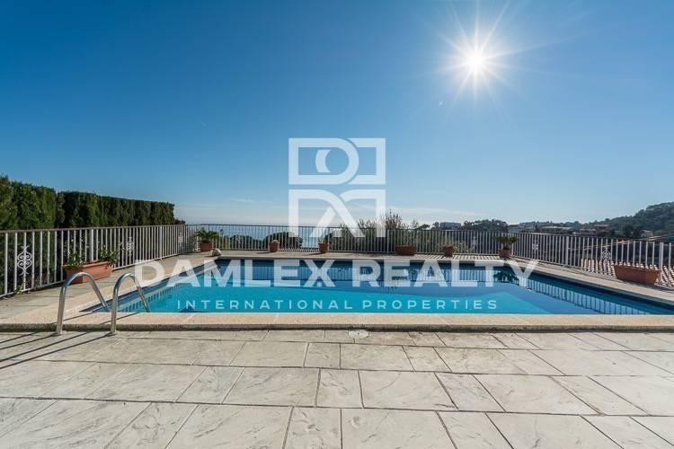 Villa with panoramic sea views. Tossa de Mar. Costa Brava Coast