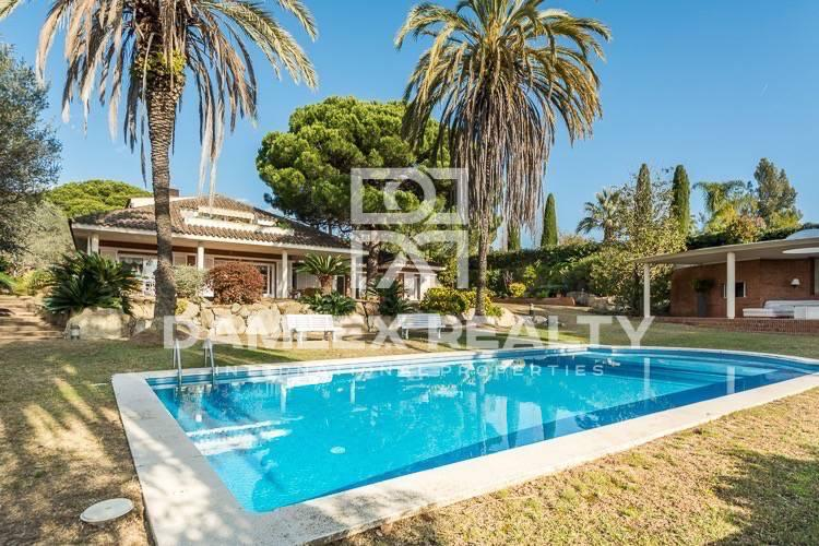 Luxury villa with stunning sea views Sant Andreu de Llavaneres