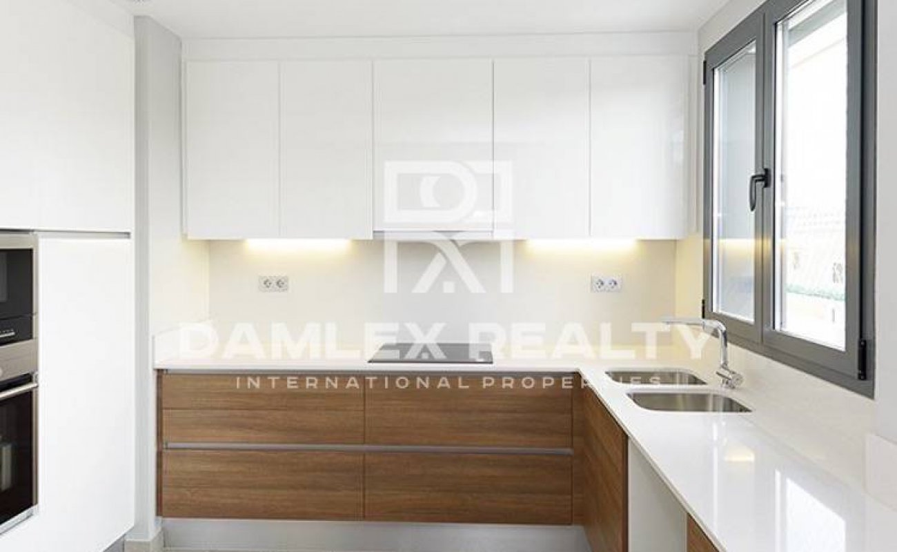 New apartment with 3 bedrooms in the area of Les Corts, Barcelona