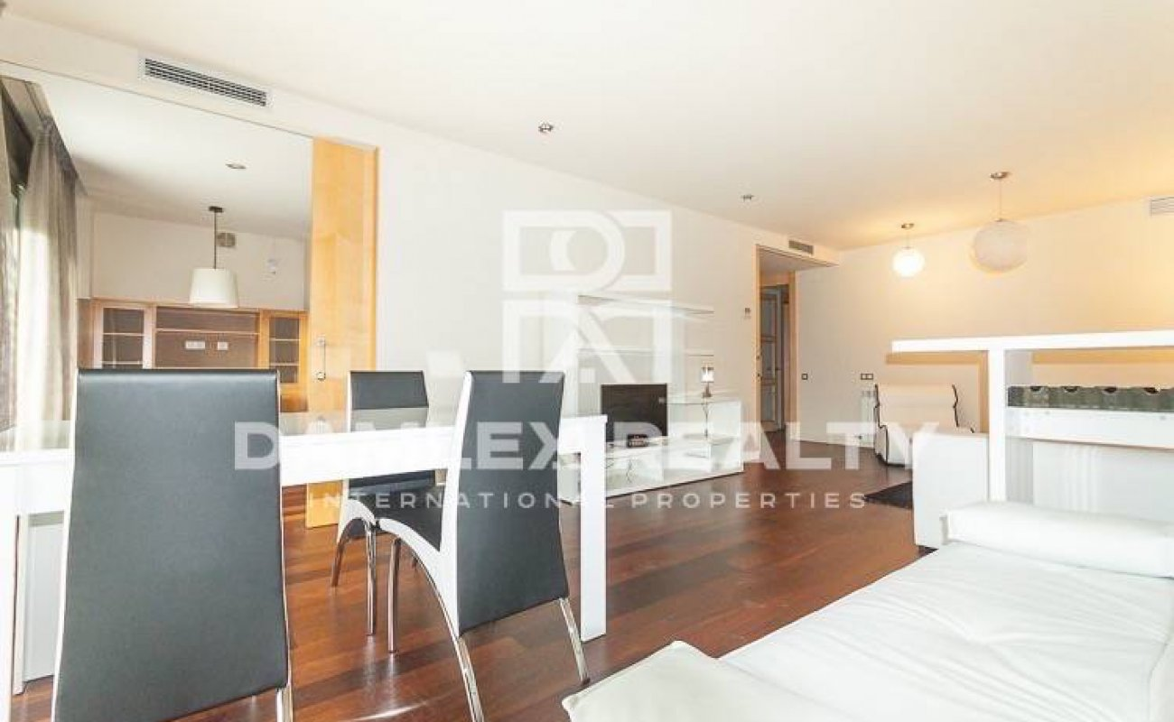 Apartment in a luxury residential complex in Barcelona