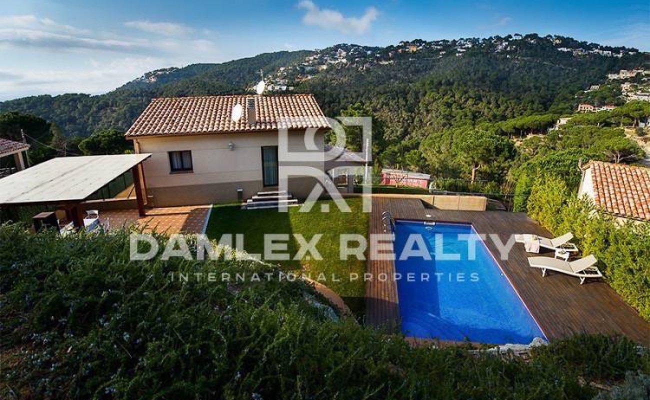Villa with sea views on the Costa Brava. Lloret de Mar