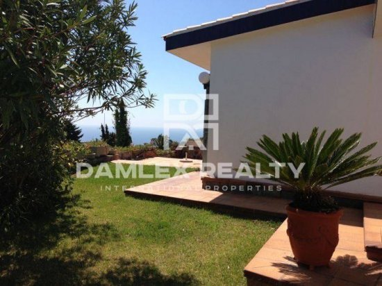 Villa with beautiful sea views in Tossa de Mar