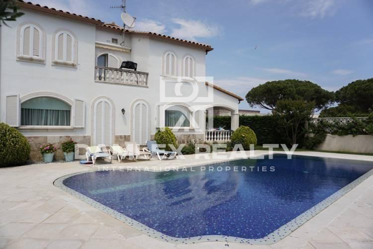 Villa in Playa de Aro. The Costa Brava