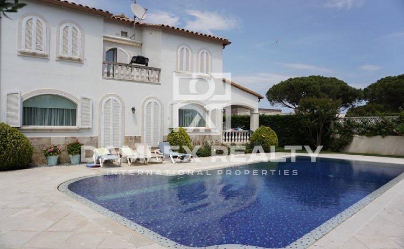 Villa in Playa de Aro. The Costa Brava