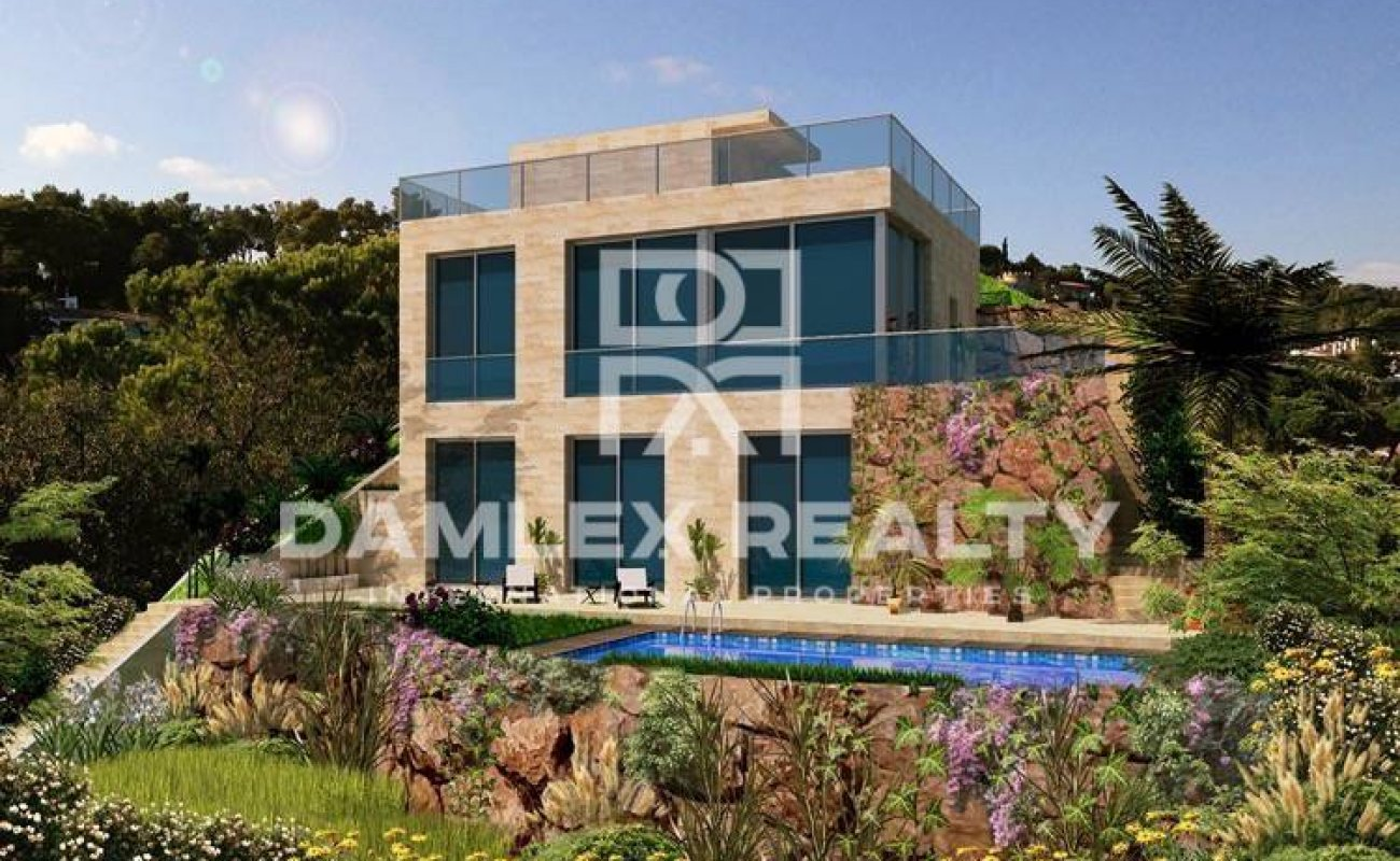 Modern new villa in Lloret de Mar, Costa Brava