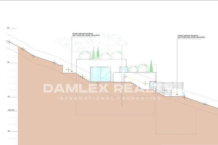 New villa under construction with sea views. Tossa de Mar