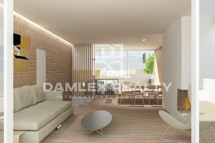 Duplex on the top floor in Barcelona