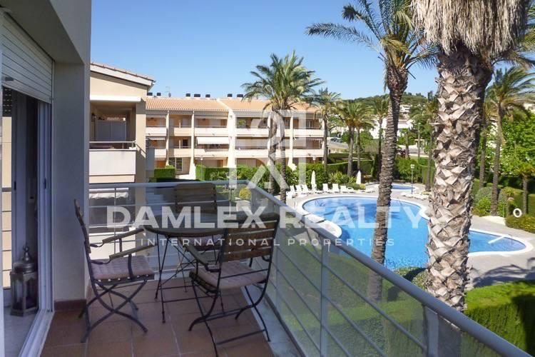 """Apartments in S""""Agaró in a residential complex with pool. Costa Brava"""