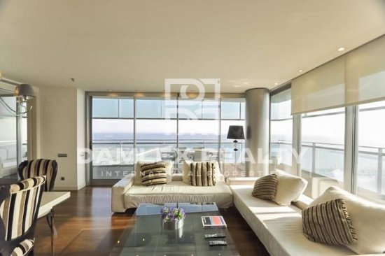Apartment on the seafront in Barcelona.