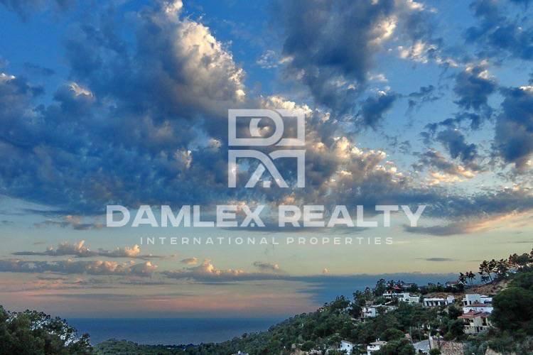 Villa in Lloret de Mar with sea and mountain views. Costa Brava