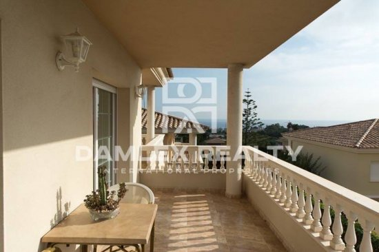 Cozy villa in the town of Vilassar de Dalt