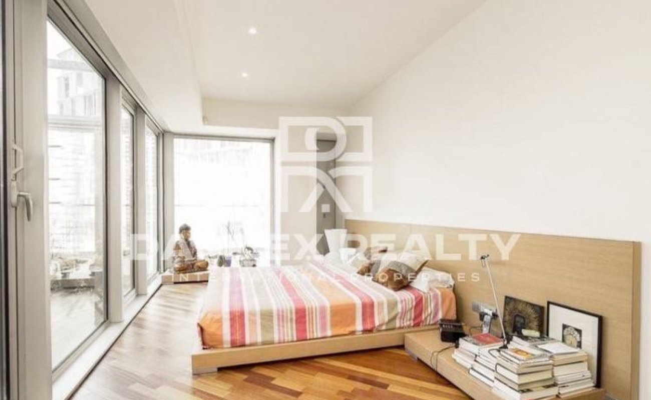 Apartment with fantastic sea view in Barcelona