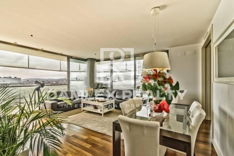 Apartment in a high rise building on the sea front in Barcelona