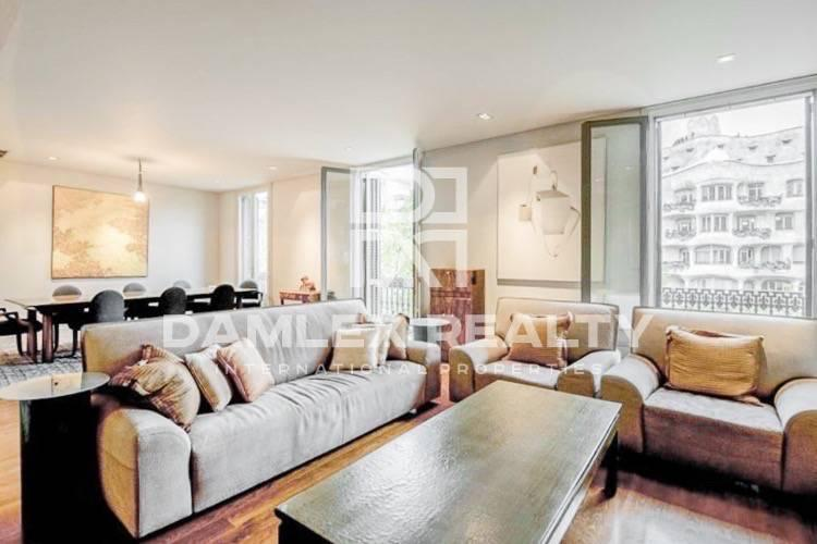 Apartment in the center of Barcelona, on Paseo de Gracia