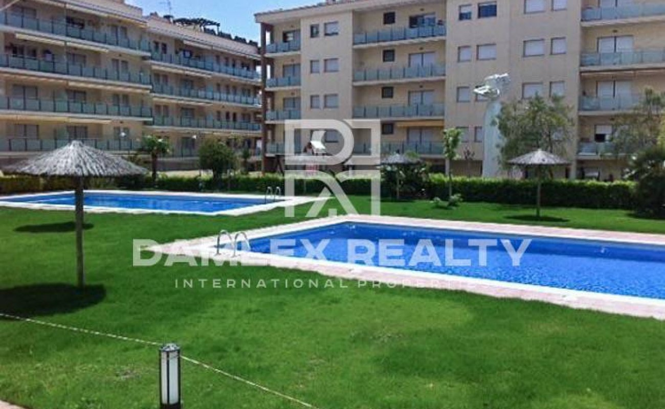 Apartment in a residential complex with swimming pool. Lloret de Mar