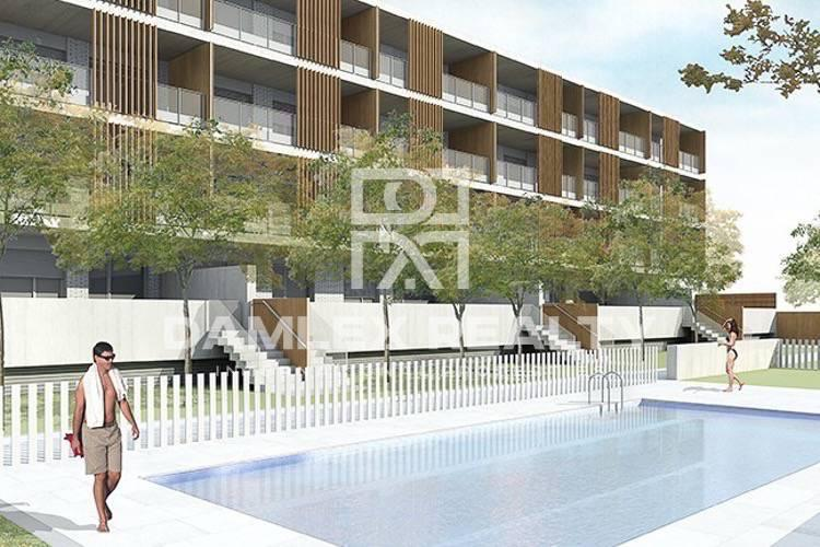 New apartment building in Sitges