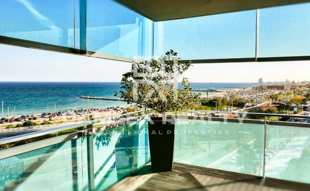 Luxury apartment on the beach in Barcelona