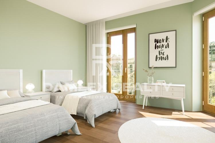 Luxurious apartment on Paseo de Gracia in Barcelona.