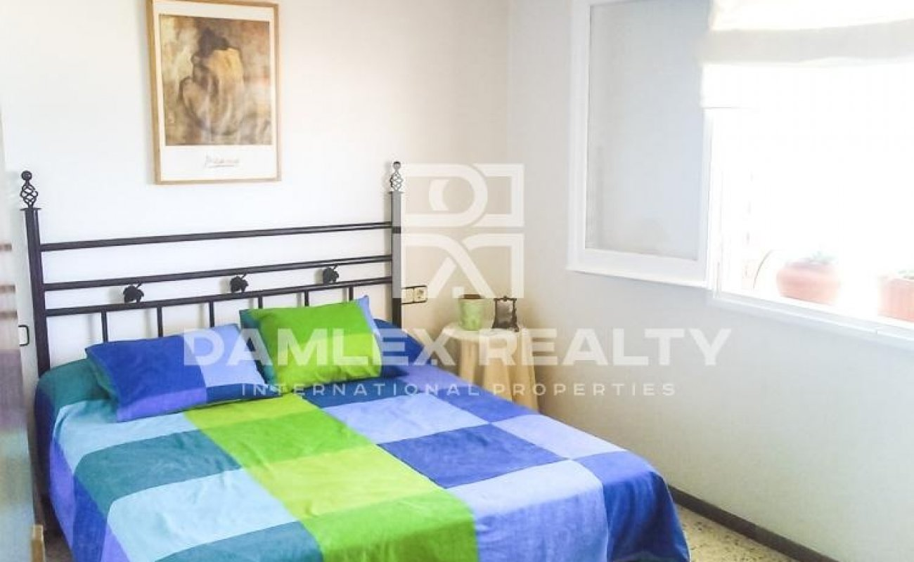 Apartment with sea views in Canet de Mar