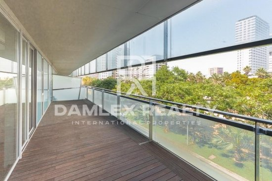 Modern apartment in a luxury residential complex in Diagonal Mar