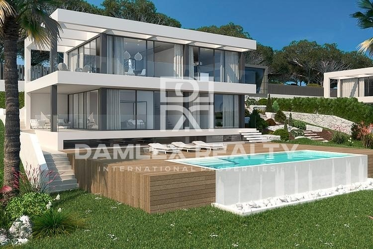 Project of a modern villa in the exclusive urbanization of Begur.