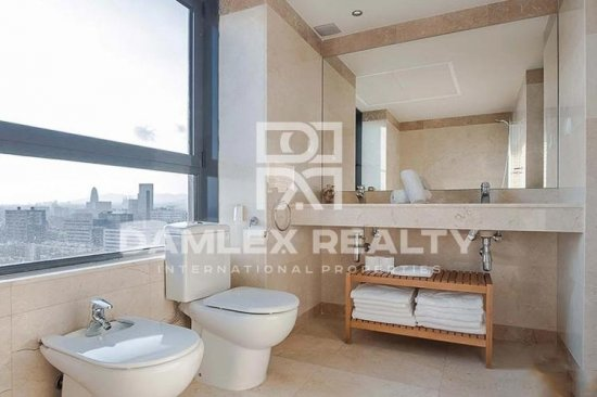 Penthouse with tourist license in Diagonal Mar