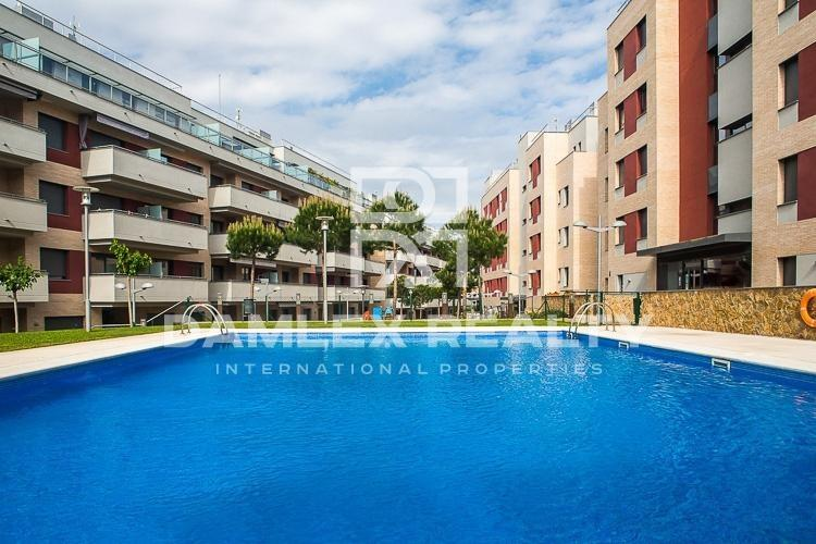 Apartment in Lloret de Mar on penthouse floor with large terrace