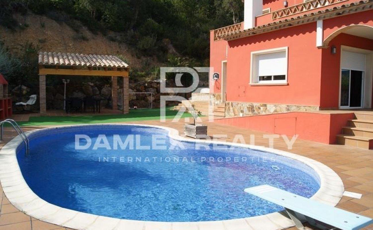 Villa with sea views in Calonge. Costa Brava