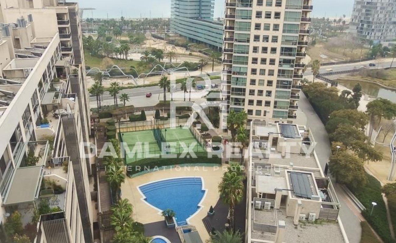 Apartment with sea views in Diagonal Mar