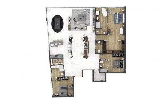 Apartment with sea views. Estepona