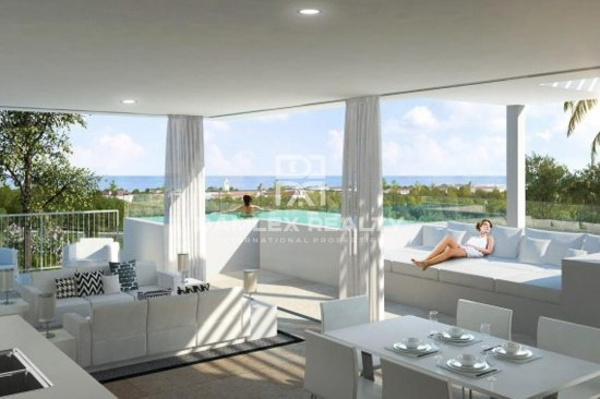 Penthouse in a prestigious residential complex