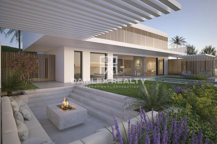 Project of 3 modern villas with sea views, Costa del Sol