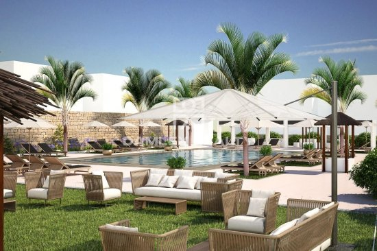 Apartments with own plot in a new residential complex