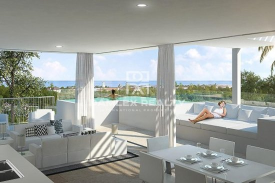 New residential complex 5 minutes walk from the beach