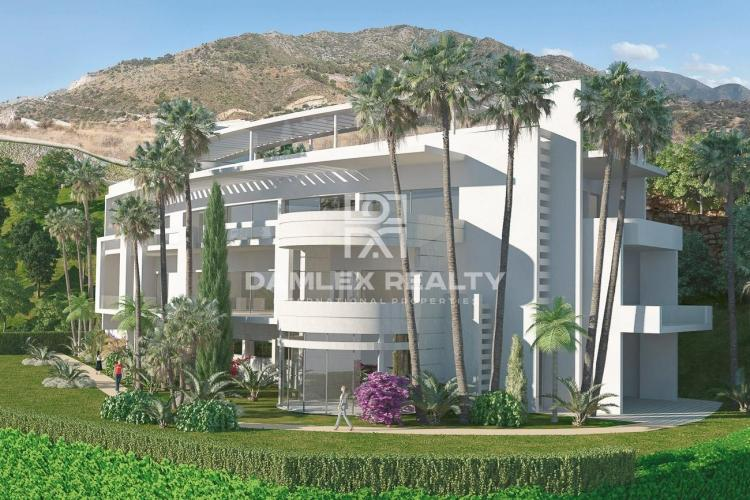 Apartments in a luxury residential complex near Marbella