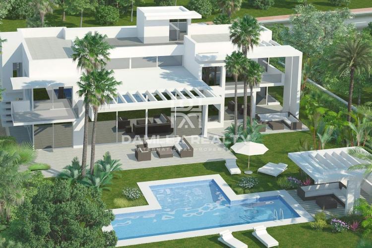 Modern villa near the beach, Guadalmina Baja