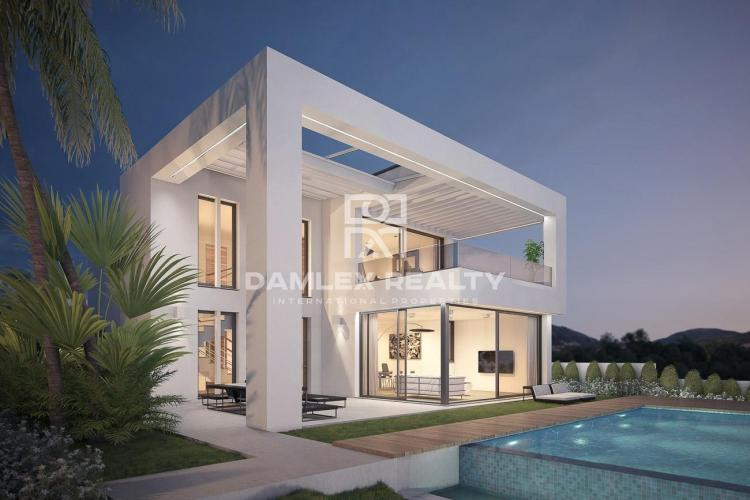 New villas with panoramic sea views