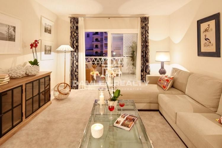 Apartments in a luxury residential complex in Puerto Banus