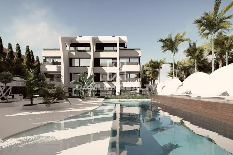 Apartments in a luxury residential complex near the beach. Marbella