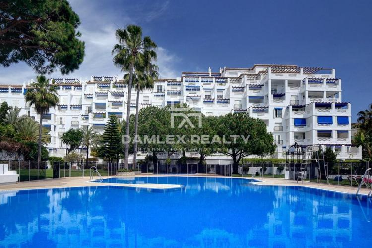 Apartment 150 meters from the beach of Puerto Banús