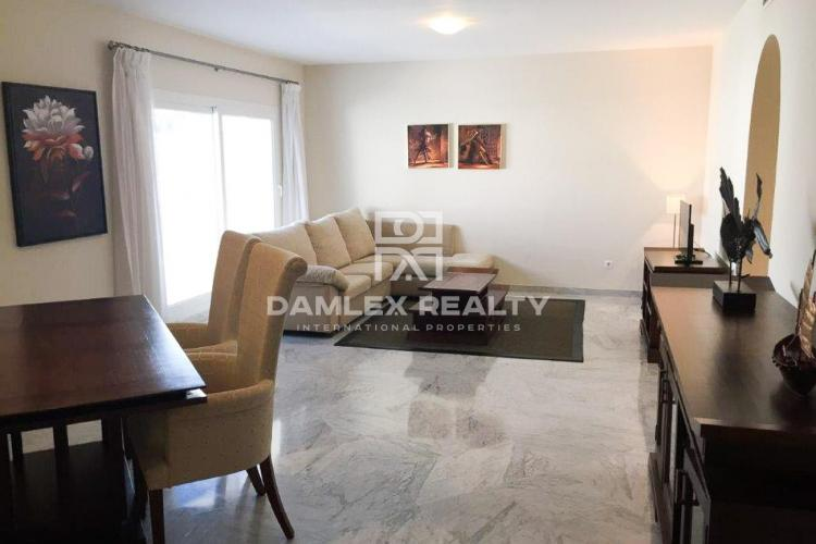 Apartments on the second line of the beach in Puerto Banus
